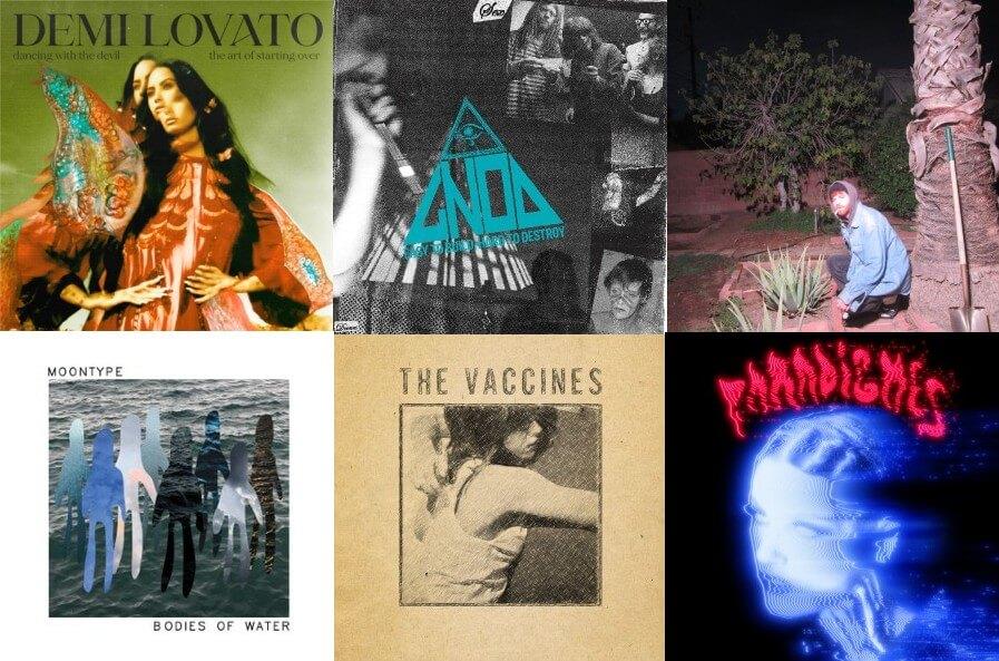 6 nuevos álbums para comenzar tu semana