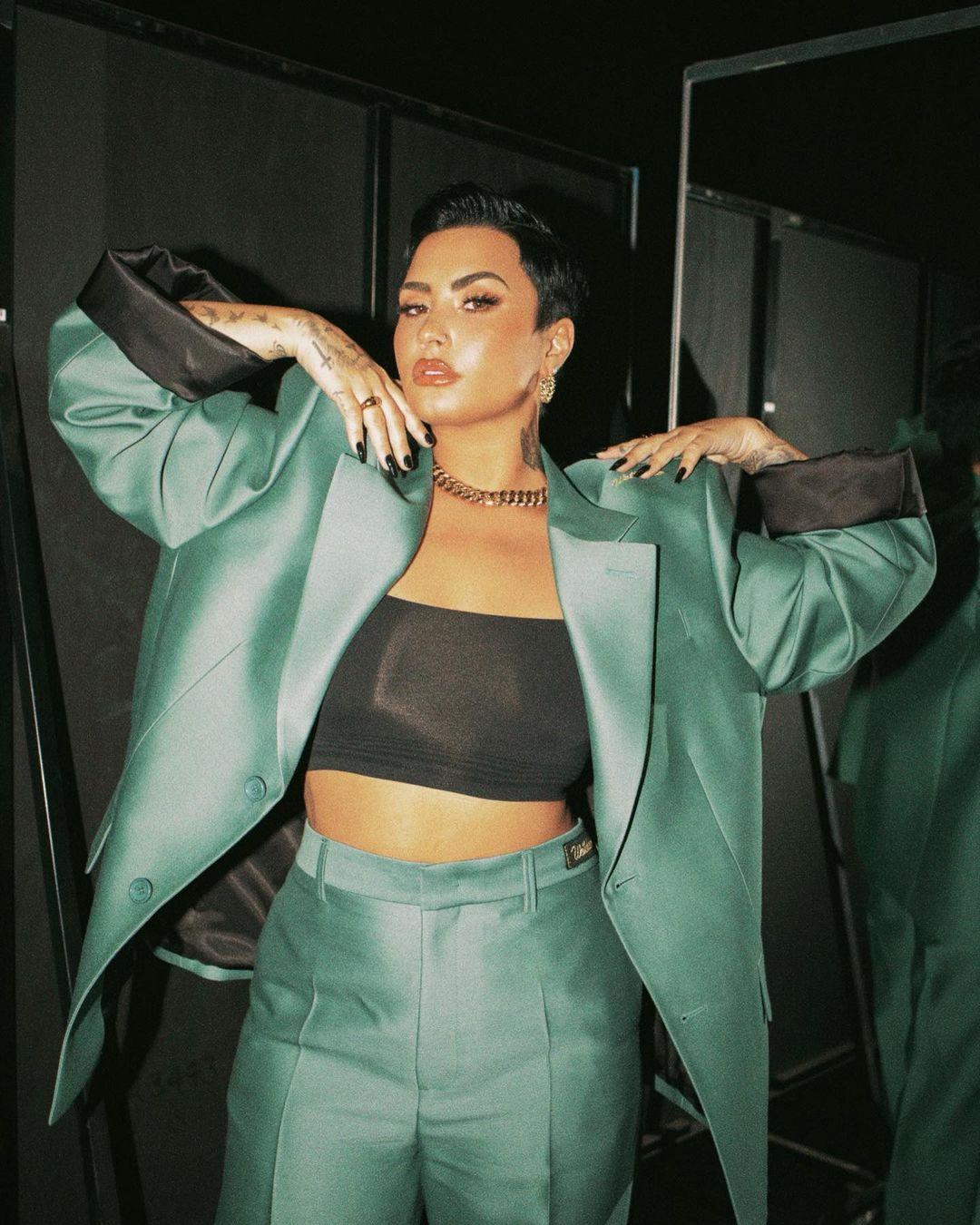 """Demi Lovato se declara como persona no binaria: """"he estado haciendo un trabajo de sanación y reflexión"""""""