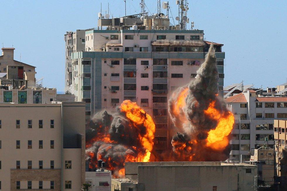 Medio Oriente: 198 palestinos, 10 israelíes y 58 niños, el saldo del conflicto armado tras una semana de ataques