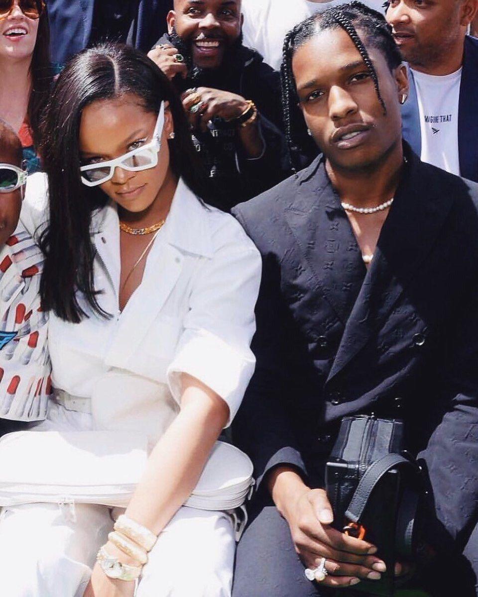 """Confirmado: A$AP Rocky dice que Rihanna es su novia y """"el amor de su vida"""""""