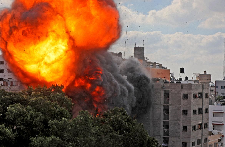 Medio Oriente: 87 muertos en Gaza y cuatro edificios derribados es el saldo de la dura ofensiva israelí