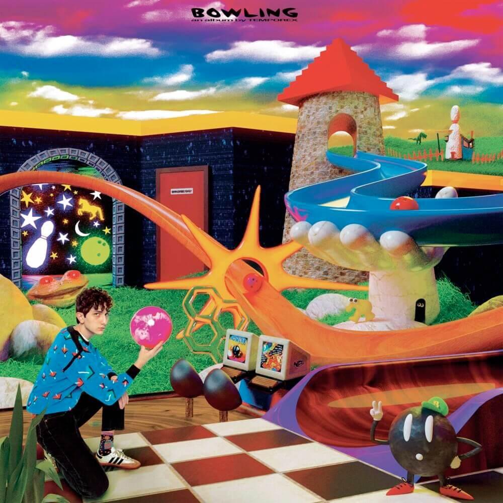 """Portada del álbum """"Bowling"""" de Temporex."""