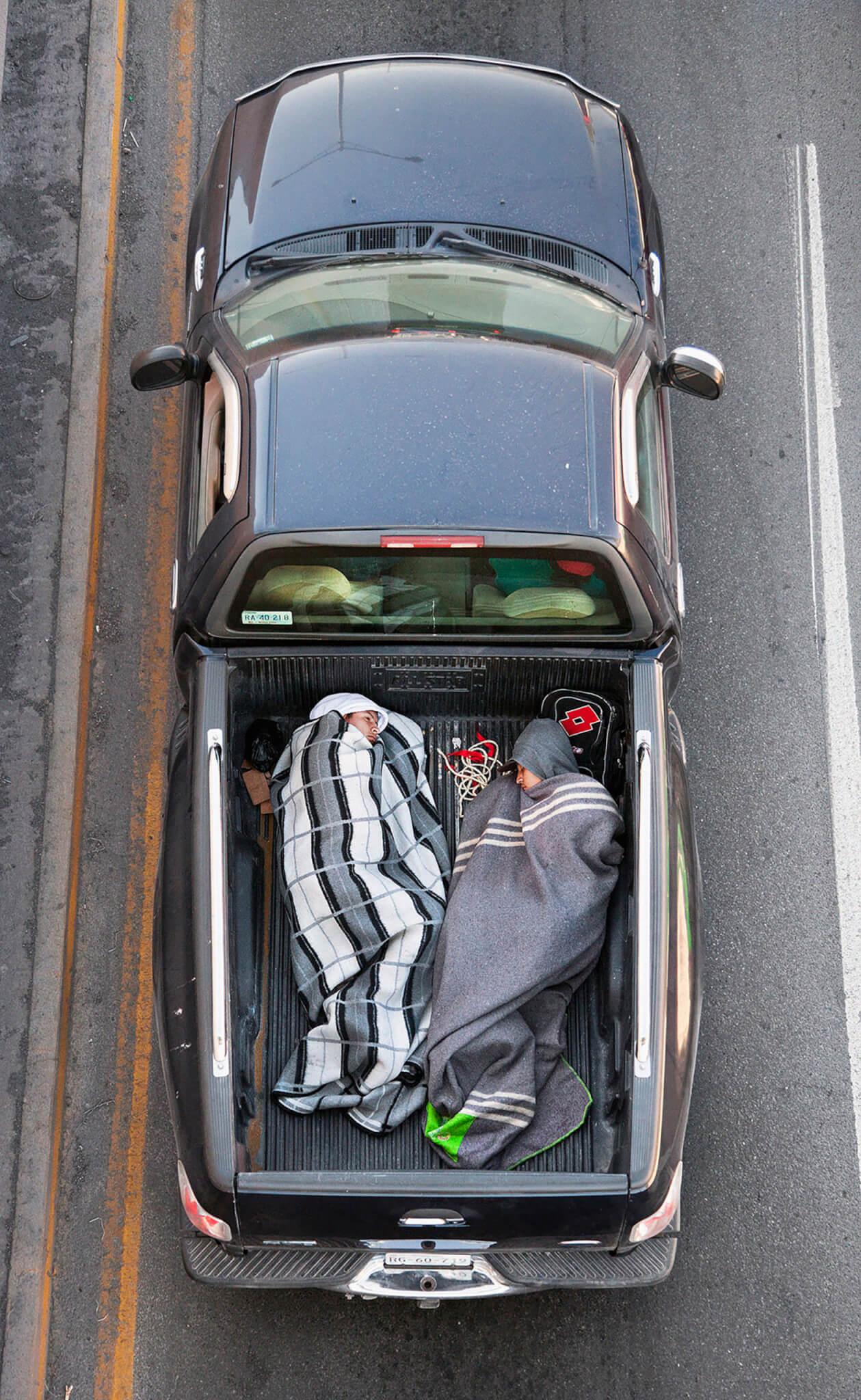 """""""Carpoolers"""". Fotografía: Alejandro Cartagena"""
