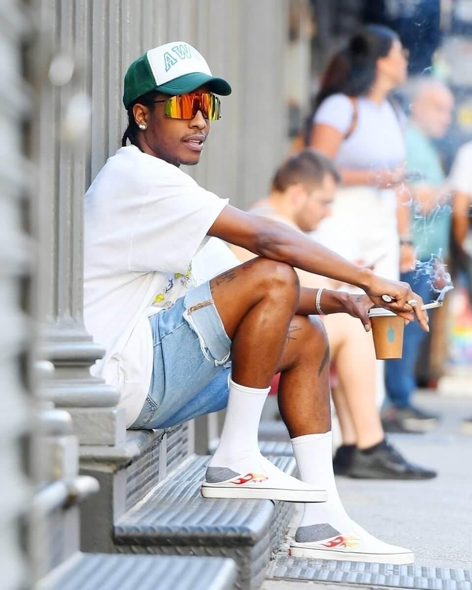 Así se ven las nuevas zapatillas de Vans diseñadas por A$AP Rocky