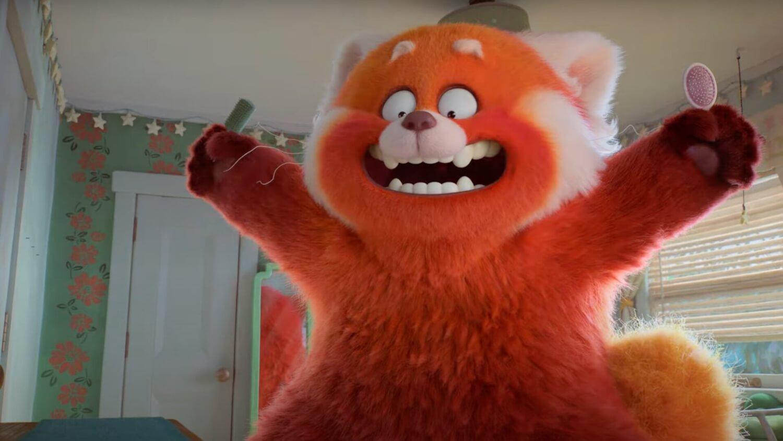 """""""Turning Red"""": El trailer de la nueva película de Pixar transforma la ansiedad adolescente en un panda rojo"""