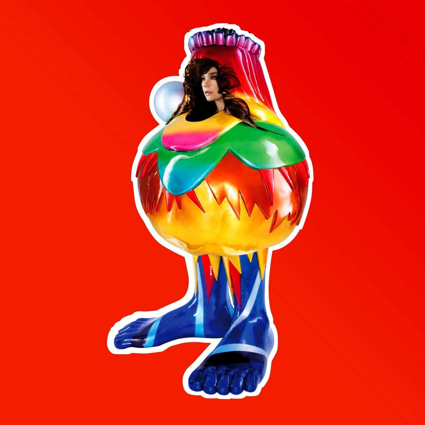 """Portada del álbum """"Volta"""" de Björk."""