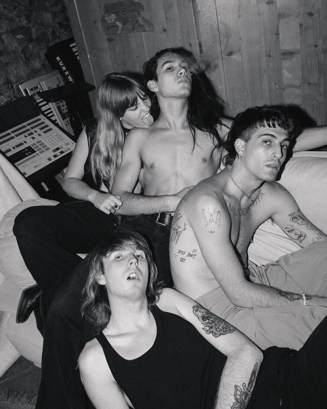 MOR.BO RIOT: Måneskin, la banda italiana que quiere traer al rock y la androginia de vuelta