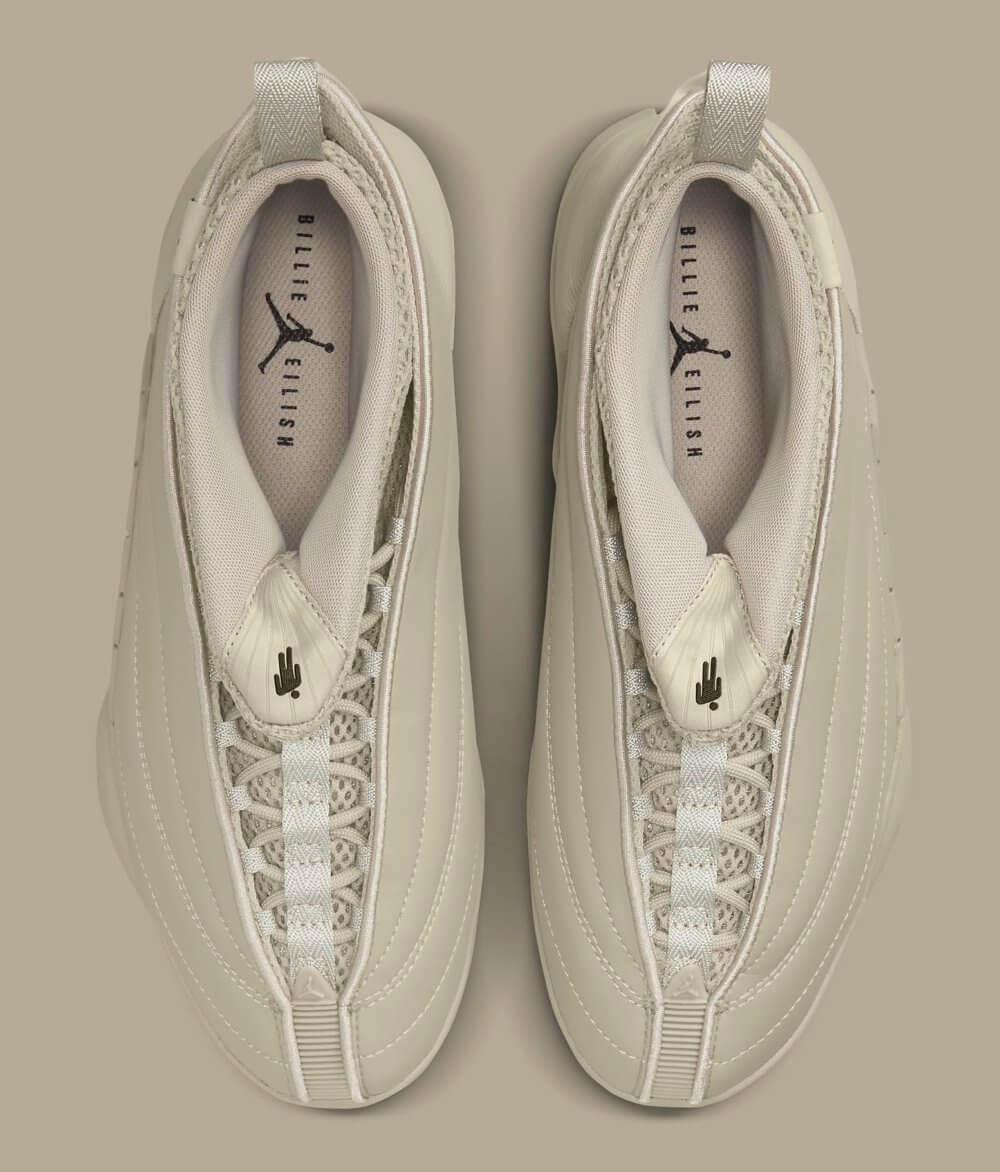 Las Air Jordan 15 de Billie Eilish. Fotografía: Nike