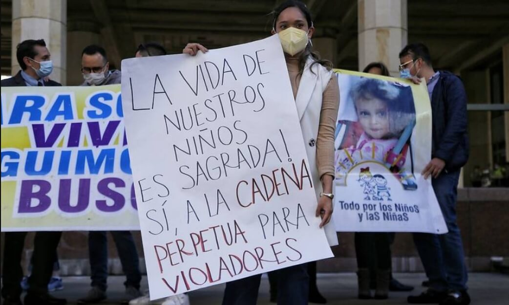 Corte Constitucional de Colombia declara inconstitucional la cadena perpetua para violadores de niños