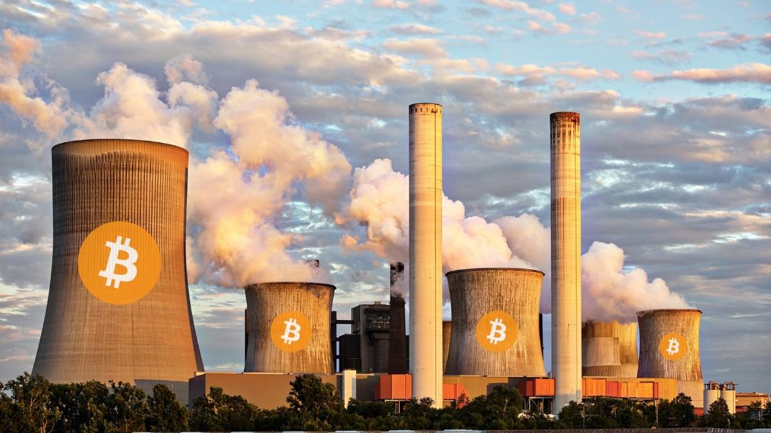 Una empresa de minería de bitcoins compró una central eléctrica de carbón para minar criptomonedas