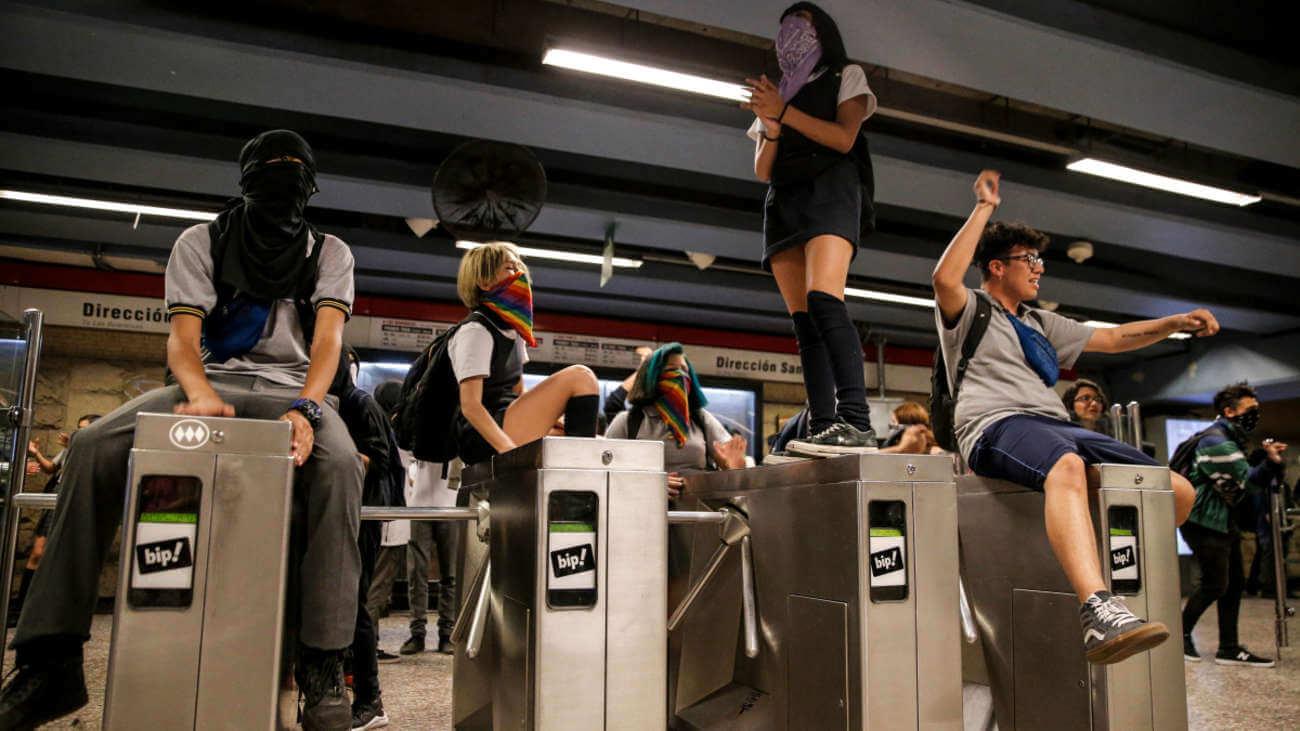 Los estudiantes, el fuego que encendió el Estallido Social en Chile hace dos años en la lucha por la desigualdad